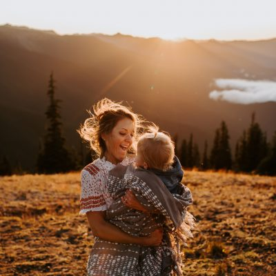 Seattle family photos… but in the mountains!