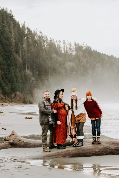 Olympic National Park Maternity Session